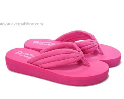 Pink Towel Slippers for Girls