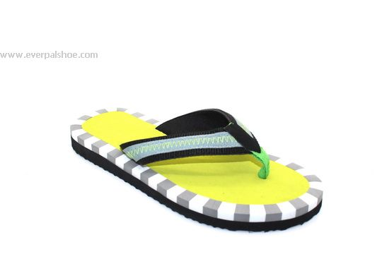Colorful Flat Flip Flops for Lady