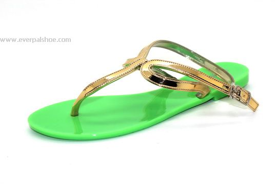 Lady PVC Jelly Shoes Sandals