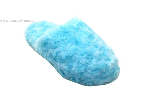 TPR Sole Short Plush Indoor Slippers