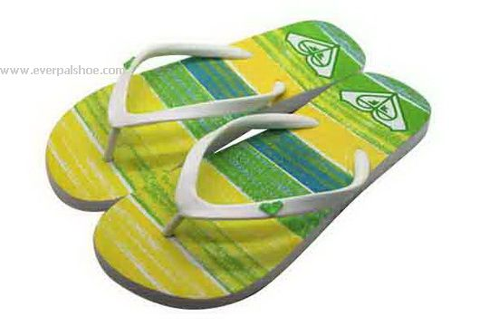 Simple PVC Strap Beach Slippers